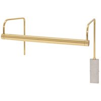 House of Troy SLEDZ15-61 Slim-line 4.5 watt 15 inch Polished Brass Picture Light Wall Light