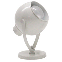 House of Troy SP520-9 Spot Light 6 inch 40 watt White Task Light Portable Light photo thumbnail