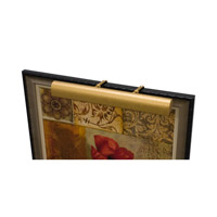 House of Troy Classic Traditional 3 Light Picture Light in Gold Wrinkle T24-2 photo thumbnail
