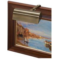 House of Troy T4-56 Classic Traditional 15 watt 4 inch Statuary Bronze Picture Light Wall Light photo thumbnail