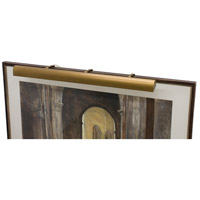 Classic Traditional 240 watt 42 inch Weathered Brass Picture Light Wall Light