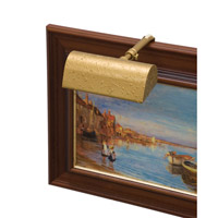 House of Troy Classic Traditional 1 Light Picture Light in Gold Wrinkle T5-2 photo thumbnail