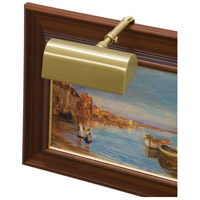 Classic Traditional 15 watt 5 inch Satin Brass Picture Light Wall Light
