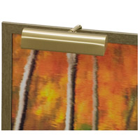 Classic Traditional 40 watt 9 inch Satin Brass Picture Light Wall Light