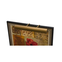 House of Troy Classic Traditional LED Picture Light in Weathered Brass TLED24-76 photo thumbnail