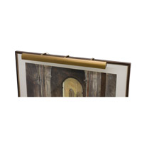 House of Troy Classic Traditional LED Picture Light in Weathered Brass TLED36-76 photo thumbnail