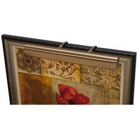House of Troy TLEDZ24-56 Classic Traditional 9 watt 24 inch Statuary Bronze Picture Light Wall Light