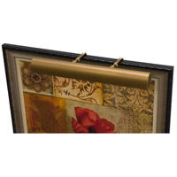 House of Troy TLEDZ36-76 Classic Traditional 13.5 watt 36 inch Weathered Brass Picture Light Wall Light