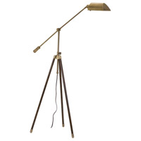 House of Troy Tripod 1 Light Floor Lamp in Antique Brass TR275-AB photo thumbnail