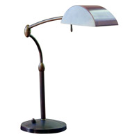 House of Troy Vision 1 Light Table Lamp in Oil Rubbed Bronze V501-OB