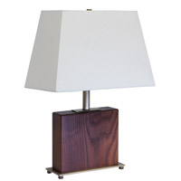 House of Troy VT Hardwood 1 Light Table Lamp in Antique Brass VH250A-AB photo thumbnail