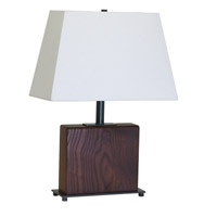 House of Troy VT Hardwood 1 Light Table Lamp in Oil Rubbed Bronze VH250A-OB