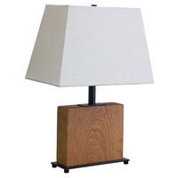 House of Troy VT Hardwood 1 Light Table Lamp in Oil Rubbed Bronze VH250C-OB photo thumbnail