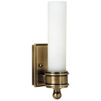 House of Troy WL601-AB Decorative Wall Lamp 1 Light 2 inch Antique Brass Wall Lamp Wall Light photo thumbnail