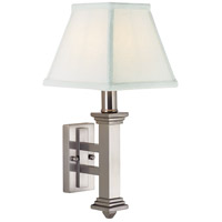 House of Troy Decorative Wall 1 Light Wall Lamp in Satin Nickel WL609-SN