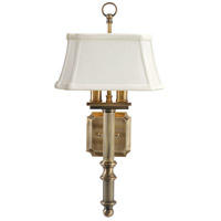 House of Troy WL616-AB Decorative Wall Lamp 2 Light 9 inch Antique Brass Wall Lamp Wall Light  photo thumbnail