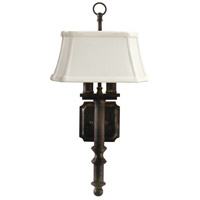 House of Troy Decorative Wall 2 Light Wall Lamp in Copper Bronze WL616-CB