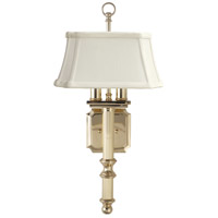 House of Troy WL616-PB Decorative Wall Lamp 2 Light 9 inch Polished Brass Wall Lamp Wall Light