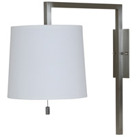 Signature 1 Light 9 inch Satin Nickel Wall Lamp Wall Light
