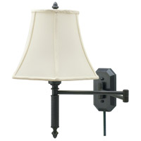 House of Troy Decorative Wall 1 Light Swing-Arm Wall Lamp in Oil Rubbed Bronze WS-706-OB