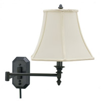 House of Troy Decorative Wall 1 Light Swing-Arm Wall Lamp in Oil Rubbed Bronze WS-708-OB