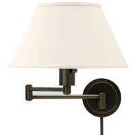 House of Troy Home and Office 1 Light Swing-Arm Wall Lamp in Oil Rubbed Bronze WS14-91