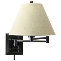 House of Troy Decorative Wall 1 Light Swing-Arm Wall Lamp in Oil Rubbed Bronze WS750-OB