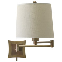 House of Troy Decorative Wall 1 Light Swing-Arm Wall Lamp in Antique Brass WS752-AB