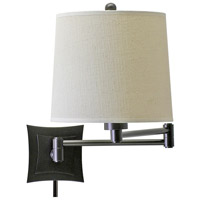 House of Troy Decorative Wall 1 Light Swing-Arm Wall Lamp in Oil Rubbed Bronze WS752-OB