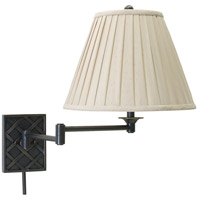 House of Troy Decorative Wall 1 Light Swing-Arm Wall Lamp in Oil Rubbed Bronze WS760-OB