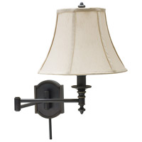 House of Troy Decorative Wall 1 Light Swing-Arm Wall Lamp in Oil Rubbed Bronze WS761-OB