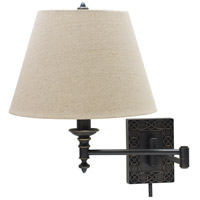 House of Troy Decorative Wall 1 Light Swing-Arm Wall Lamp in Oil Rubbed Bronze WS763-OB