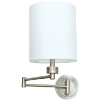 House of Troy WS775-SN Signature 1 Light 8 inch Satin Nickel Wall Lamp Wall Light
