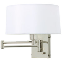 House of Troy WS776-PN Signature 1 Light 12 inch Polished Nickel Wall Lamp Wall Light