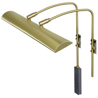 Zenith 9 watt 24 inch Satin Brass Picture Light Wall Light