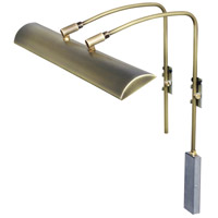Zenith 9 watt 24 inch Antique Brass Picture Light Wall Light