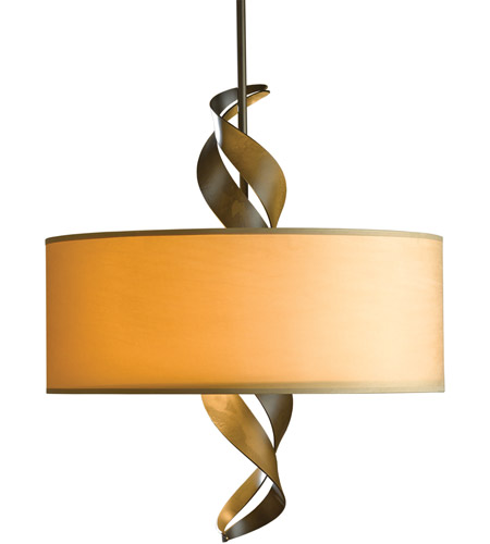 Hubbardton Forge 137685-1056 Folio 3 Light 22 inch Burnished Steel Pendant Ceiling Light
