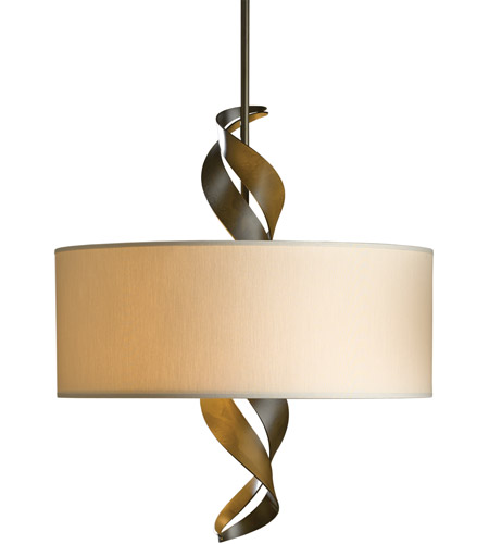 Hubbardton Forge 137685-1165 Folio 3 Light 22 inch Soft Gold Pendant Ceiling Light, Drum Shade 137685-SKT-STND-07-SE2201_2.jpg