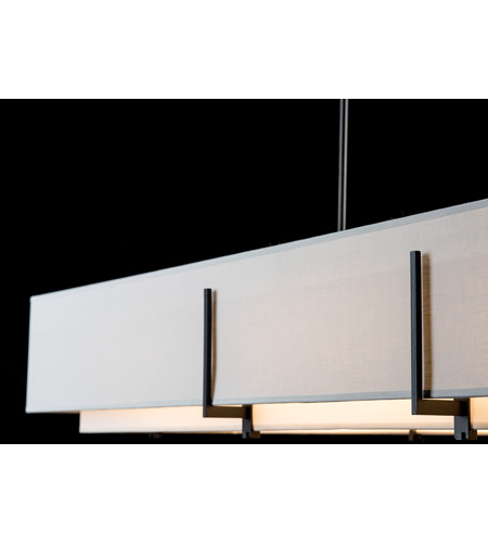 Hubbardton Forge 139640-1845 Exos 4 Light 15 inch Gold Pendant Ceiling Light, Rectangular 139640-SKT-STND-10-SF4602-SJ4207_7.jpg