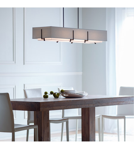 Hubbardton Forge 139640-1876 Exos 4 Light 15 inch Burnished Steel Pendant Ceiling Light, Rectangular 139640-SKT-STND-10-SF4602-SL4207_8.jpg