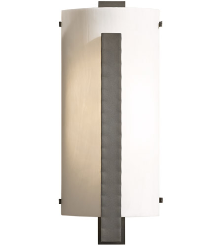 Hubbardton Forge 206729 1012 Forged Vertical Bar Led 8 Inch Black Ada Sconce Wall Light