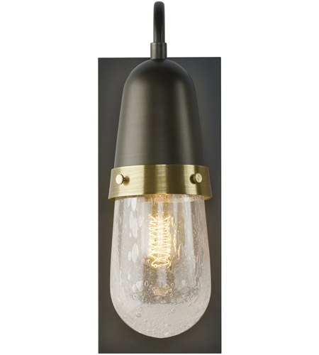 Hubbardton Forge 207470-1007 Fizz 1 Light 5 inch Soft Gold with Brass Accent Sconce Wall Light 207470-SKT-07-BR-YG0512_2.jpg