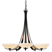 Hubbardton Forge 101261-1006 Aegis 5 Light 31 inch Dark Smoke Chandelier Ceiling Light