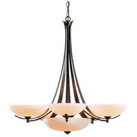 Hubbardton Forge 101263-1007 Aegis 7 Light 31 inch Dark Smoke Chandelier Ceiling Light