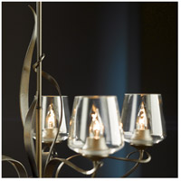 Flora 5 Light 27 inch Natural Iron Chandelier Ceiling Light