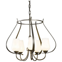 Hubbardton Forge 103045-1008 Flora 5 Light 22 inch Dark Smoke Chandelier Ceiling Light