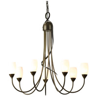 Hubbardton Forge 103049-1003 Flora 7 Light 25 inch Bronze Chandelier Ceiling Light