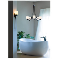 Hubbardton Forge 104105-1006 Ribbon 5 Light 29 inch Dark Smoke Chandelier Ceiling Light