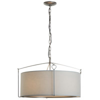Hubbardton Forge 104250-1042 Bow 4 Light 24 inch Vintage Platinum Pendant Ceiling Light