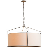 Hubbardton Forge 104255-1002 Bow 4 Light 30 inch Dark Smoke Pendant Ceiling Light Large